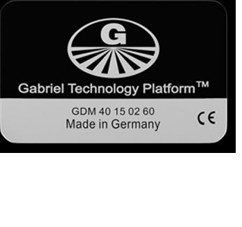 Gabriel-Chip GDM 40/60 schwarz