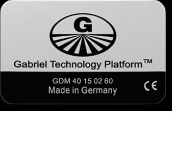 Gabriel-Chip GDM 40/60 silber